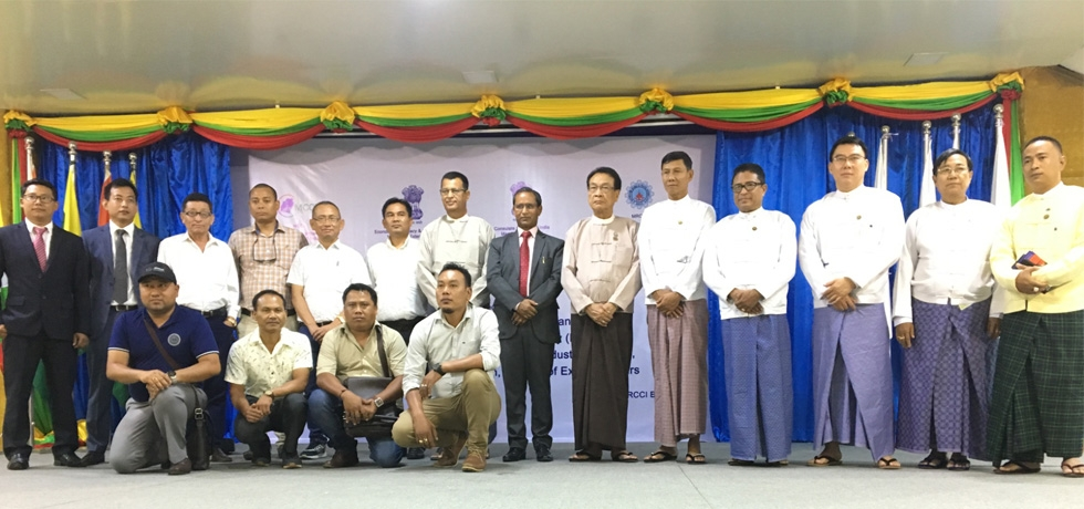 Business Networking and Growth Between North East India and Myanmar on 13th June 2018 at Mandalay Region Chamber of Commerce and  Industry (MRCCI), Mandalay