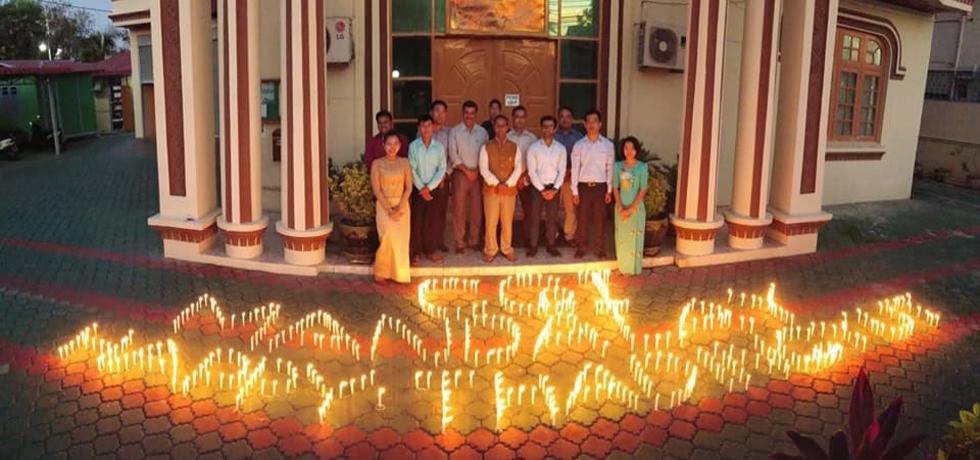 Celebration of Thadingyut Festival