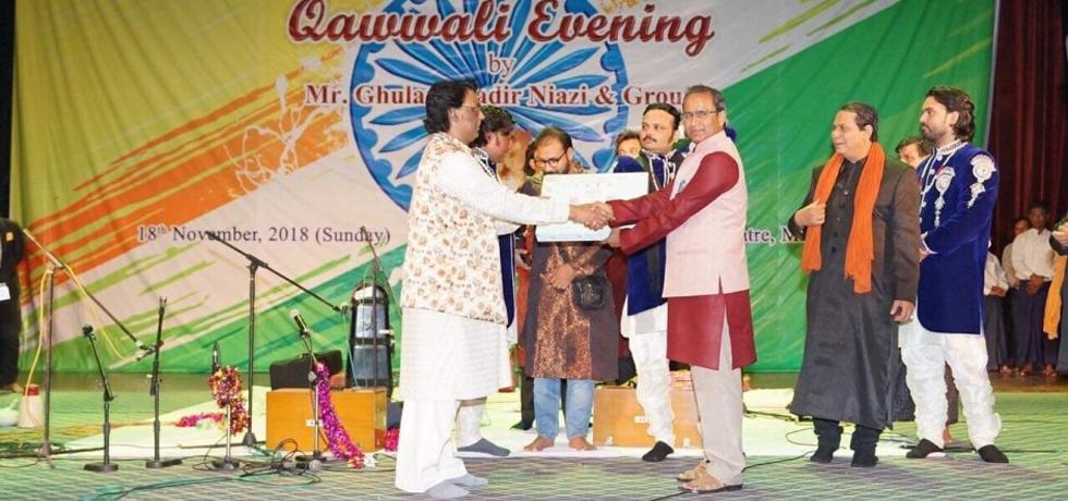 Qawwali Evening at National Theatre, Mandalay on 18th November 2018