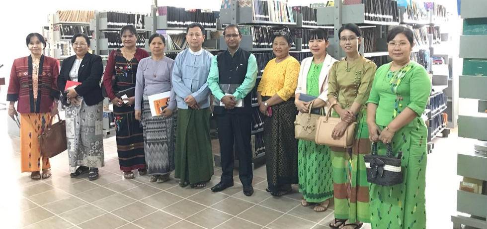 Consul General meeting with Rector & Professors of Yadanabon University, Mandalay for closer cooperation with Indian Universities.