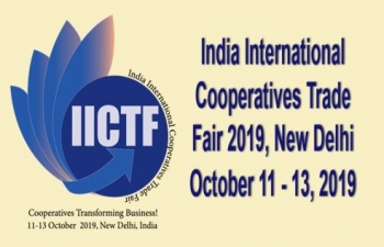 India International Cooperatives Trade Fair 11-13 October 2019