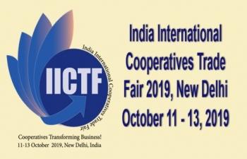 India International Cooperatives Trade Fair 11-13 October 2019