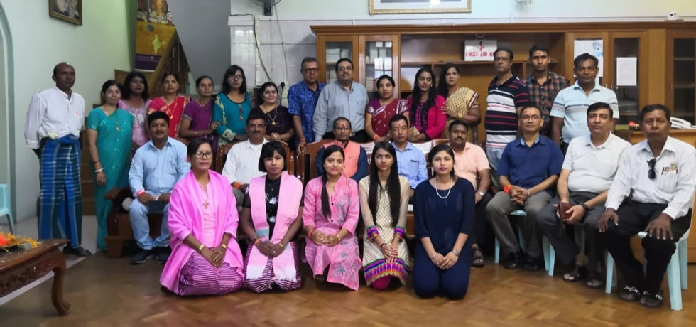 The Indian Women organization, Mandalay along with Community leaders visited Consulate to tie Rakhi and celebrated Raksha Bandhan by distributing sweets among the Consulate officials.