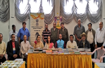 Outreach Programme with PIOs, CG meeting with Indian Community of Loilam at Taunggyi, Scholarship Awareness and distribution of books on Indian Culture, Yoga, Hindi CBSE Class 1 to 10, Mahatma Gandhi etc.