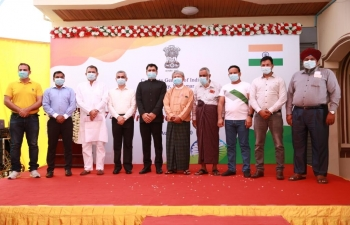 74th Independence Day Celebrations at CGI, Mandalay